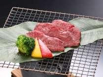サーロイン牛の朴葉焼き