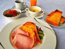【朝食】1日の元気は朝食から!当館自慢の洋朝食(7:00~10:00)