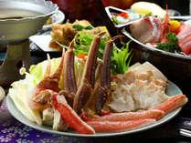 【福島県民限定】カニしゃぶ&鯛しゃぶ★どっちも食べたい欲張りさんのための贅沢な相盛りしゃぶしゃぶ♪