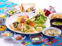 サンパレス球陽館の朝食は「お母さんの味」口に入れた瞬間、やさしく懐かしい味がするはずです。