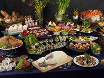 【ウィンザー ディナーブッフェ】 期間限定で開催される、ウィンザーの特別ブッフェ。