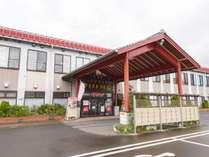 *外観/多彩なお風呂とかけ流しの温泉…新潟の海の幸をリーズナブルな価格でご案内いたします