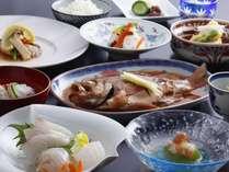 新鮮魚介を使用した海鮮会席プラン