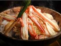 塩で味付けされたアツアツの焼き蟹は旨味が凝縮されてます
