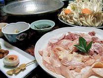 奈良の地鶏「大和肉鶏」水だき(写真は2人前)