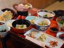 【大和牛会席】大和牛に豆腐に鮎に…奈良のうまいもの盛りだくさんの会席です。