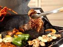 おすすめ!【美肌温泉×4種のお肉|ChicagoスタイルBBQ】<お肉好きプラン♪>