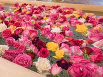 ホテル千秋閣 バラ風呂のコーナー 女子大浴場 14:00~21:30