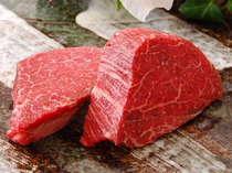 A5ランクの信州牛フィレ肉です。信州牛プランでお出しします。