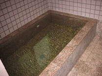 普通浴槽です。体を洗ったりシャンプーするのはこちらになります。