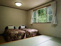 和洋室です。カップルからご家族、グループでご利用ください。
