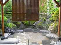 庭園風呂。とってもおススメ!気持がいいですよ~♪