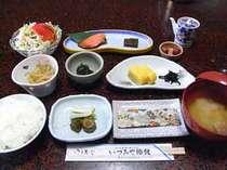 朝食イメージ。朝はしっかり食べましょう!