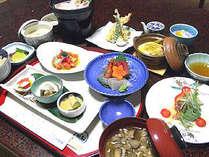 *夕食イメージ。ひと手間かかったお料理が好評です♪