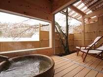 【露天風呂付き客室】夜でも朝でもお好きな時に!気持ちよい天然温泉を独り占め
