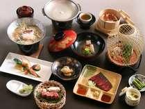 【信州牛&馬刺し】信州牛と馬刺しの和会席料理一例