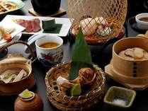 【松茸4品】期間限定■松茸4品が付いた充実松茸和会席料理一例。