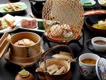 【松茸3品】期間限定■松茸3品付き和会席料理一例。