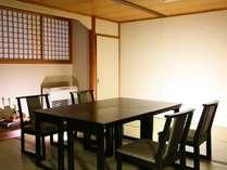 個室お食事処の一例