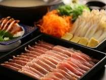 【信州産鶏三種の水炊き鍋】信濃地鶏3種の部位の食べ比べ