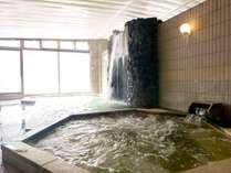【大浴場】打たせ湯で身も心もすっきり!