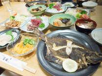 *【ご夕食一例】ボリューム満点のお料理