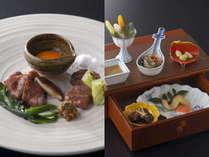 【創作和食】和食と本格フレンチが融合した創作和食。旬の味覚を存分にお楽しみください。