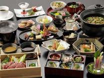"""【スタンダード◇創作和食】~目にも鮮やかな和食コース~""""那須の四季彩""""を料理に込めて。"""