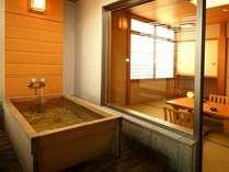 【1番お得!ちょっと豪華にあわび(小)付き】檜の香りがうれしい半露天風呂付客室プラン