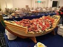 ★週末限定★三大蟹食べ放題&チョコツインタワー☆和洋中50品バイキング♪