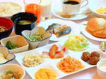 ■朝食:和洋20種以上のメニューは手作りにも拘っています♪