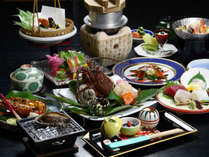 新鮮な伊勢志摩の海の幸の和会席を堪能(料理の一例)