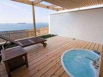 庭園露天風呂付き客室【星の林】(2間10畳+12.5畳)絶景&日常とは異なる空間を堪能してください!