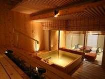庭園露天風呂付き客室【月の舟】(1間10畳)
