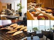 和洋約40種の朝食バイキング(イメージ)