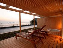 庭園露天風呂付客室2間【天の海】