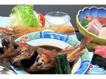 スタンダード【海鮮づくし☆満腹プラン】お刺身・揚げ物&魚の煮つけ等々、お腹いっぱい♪