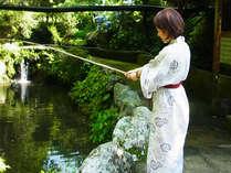 【釣り堀体験】女性や子供でも、あっという間に一本釣り♪