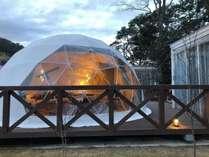 【STD】おしゃれキャンプ『グランピング』【1泊2食BBQ付】ラグジュアリーテント泊~天然温泉利用無料~