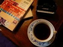 名水で淹れる美味しいコーヒーをどうぞ♪酸味があるブレンドです。