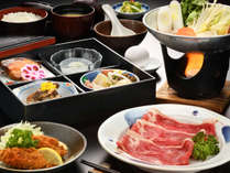 【牛すき鍋膳】甘辛だしとお肉、旬の野菜で楽しむZAOスタンダード
