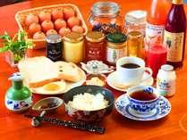 ■爽やかな朝食 安曇野の爽やかな朝にぴったりの朝食をご用意させていただきます。