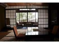 【和室一例】「天竜」の間。古い造りではありますが、風情があります。