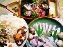 【くえ鍋&お造り&サザエ付き】くえの美味しいお出汁で作る★雑炊★は絶品♪秋冬限定ぷらん