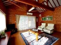 和洋風別荘タイプ客室一例。