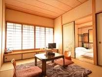 和室離れの客室一例。