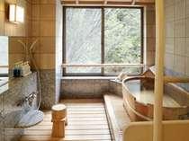 100%天然温泉掛け流しの貸切風呂