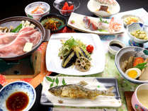 ◇【スタンダード】ひらのや好評プラン♪あっつあっつ鮎の塩焼きと会津伝統の郷土料理を召し上がれ♪