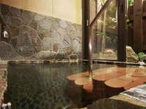 ◆【貸切露天風呂】のんびりとご入浴頂ける様に、お風呂スペースを広くとってあります。