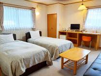 ・<別館/ツインルーム>ゆったり寛げる33平米のお部屋